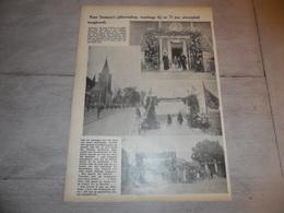 """Origineel Knipsel ( 1619 ) Uit Tijdschrift """" Ons Volk """"  1936  :  Tremeloo  Tremelo  Pater Damiaan - Vieux Papiers"""