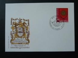 Carte Commemorative Card Pro Juventute Journée Du Timbre Tag Der Briefmarke St-Blaise Suisse 1980 - Lettres & Documents