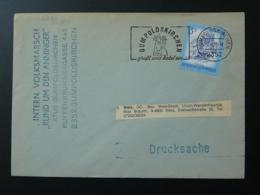 Flamme Sur Lettre Postmark On Cover Vin Wine Autriche Austria 1983 - Vins & Alcools