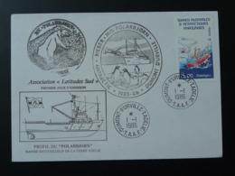 Lettre Cover Expedition Du Polarbjorn En Terre Adélie TAAF 1986 - Expéditions Antarctiques
