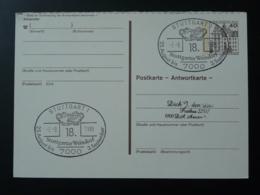Obliteration Postmark Vin Wine Stuttgarter Weindorf Allemagne 1989 - Vins & Alcools