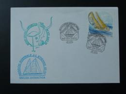 Lettre Expédition Jean Louis Etienne Voilier Antarctica Départ De Sete 34 Herault 1993 - Explorateurs & Célébrités Polaires