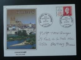 Lettre Marianne De Dulac Journée Du Timbre Pont Bridge Orléans 1994 - FDC