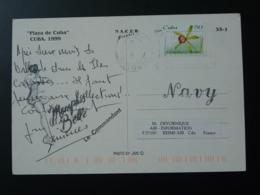 Carte Postal Avec Cachet Postmark US Navy Memphis Belle Cuba 2000 - Cuba