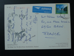 Carte Postale Avec Cachet Postmark US Navy Memphis Belle Thailand 2002 - Thaïlande