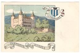 CPA - Champvent - Châteaux Suisses - Illustration  Ch.A.reuter - VD Vaud