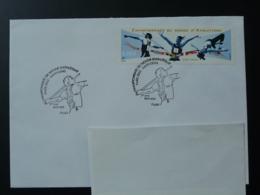 Obliteration Sur Lettre Postmark On Cover Championnats Du Monde Athletisme Athletics World Cup 2003 - Atletismo