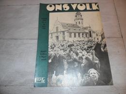 """Origineel Knipsel ( 1622 ) Uit Tijdschrift """" Ons Volk """"  1936  :  Apostelbrokken Te Rupelmonde - Vieux Papiers"""