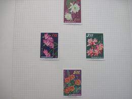 Taiwan 1964 Flora Flowers  MVLH - Orchids