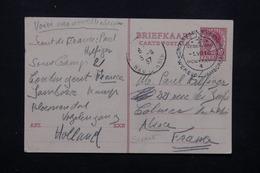 PAYS BAS - Oblitération Temporaire Scoutisme De Vogelenzang En 1937 Sur Entier Postal Pour La France - L 22258 - 1891-1948 (Wilhelmine)