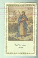 SAN GIOVANNI  APOSTOLO.. ..SANTINO....HOLY CARD - Religion & Esotericism