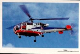 HELICOPTERE  ,  SA 319 B ALOUETTE III , GUY BROCHOT - Helicópteros