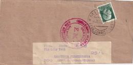 ITALIE  1938 BANDE JOURNAL DE MILAN CENSURE MILITAIRE DE SAN SEBASTIAN - Marcas De Censura Nacional