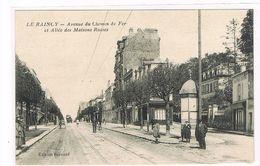 CPA (93) LE RAINCY- Avenue Du Chemin De Fer.Allée Des Maisons Russes.  (B.1861) - Le Raincy