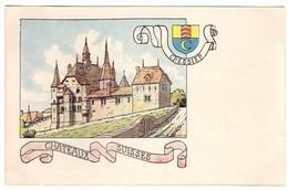 CPA -Cressier - Châteaux Suisses - Illustration  Ch.A.reuter - NE Neuchâtel