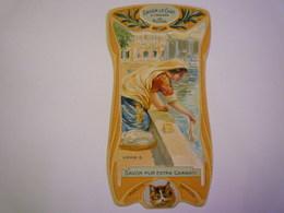 "GP 2019 - 127  SUPERBE  CALENDRIER  PUB  ""Savon LE CHAT""   1905  Arabie   XXXX - Calendriers"