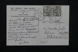 PAYS BAS - Oblitération Temporaire Scoutisme De Vogelenzang En 1937 Sur Carte Postale Pour La France - L 22259 - 1891-1948 (Wilhelmine)