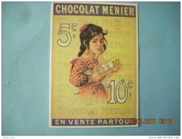 CLOUET    10454  CHOCOLAT MENIER    ROEDEL - Publicidad