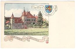 CPA -Lutry - Châteaux Suisses - Illustration  Ch.A.reuter - VD Vaud
