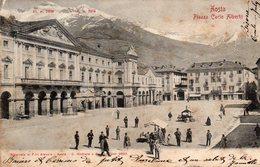 Italie : Aosta Piazza Carlo Alberto - Aosta