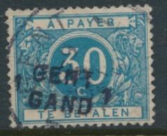 TX 15 A - Opdruk Gent Gand 1 - Timbres