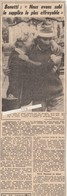 Courmayeur---italie---bonatti--tragedie Du Mont Blanc---coupure De Journal De 1961 - Non Classés