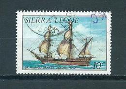 1984 Sierra Leone Ships,schepen Used/gebruikt/oblitere - Sierra Leone (1961-...)
