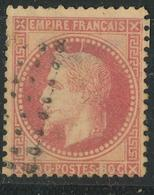 N°32 VARIETE POINTE SUR TETE - 1863-1870 Napoléon III Lauré