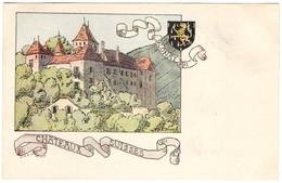 CPA - Blonay - Châteaux Suisses - Illustration  Ch.A.reuter - VD Vaud