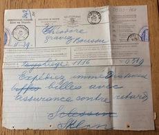 Belgium - Belgie - Belgique 1897, Telegram Telegramme Boussu St. Gislain - Stamped Stationery