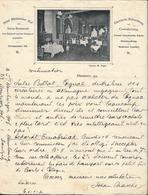 Allemagne - Lettre Avec Entête - Hôtel Rheinischer Hof -Savoy Restaurant - Hannover Pour Barbezieux (France) - Sports & Tourism