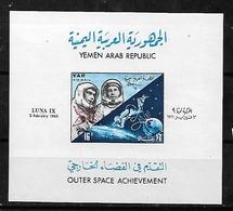 #C22# YEMEN MICHEL BL 49 MNH**. SPACE. - Yémen