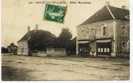 8570 - Saone Et Loire - SAINT GERMAIN Du BOIS :  HOTEL  MAUCHAMP  ( Disparu ?) - Circulée En 1918 - Other Municipalities
