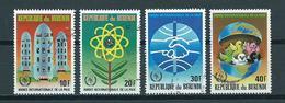 1987 Burundi Complete Set De La Paix Used/gebruikt/oblitere - Burundi