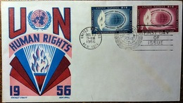 Enveloppe Premier Jour 1956 - Centraal-Amerika