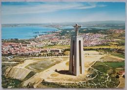 ALMADA - Monumento A Cristo Rei, Visto Do Ar - Nv - Setúbal