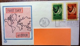 Enveloppe Premier Jour Feb 13 1961 First Day Of Issue - Central America