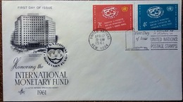 Enveloppe Premier Jour Apr 17 1961 First Day Of Issue - Inter Monetary Fund - Central America