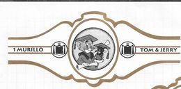 Lot De  60 Bagues De Cigare Tom  &  Jerry ( 60 Cigarenbantjes ) Voir Les Scan - Bagues De Cigares