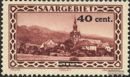 Saar 178 (complete Issue) With Hinge 1934 Landscapes - Ungebraucht