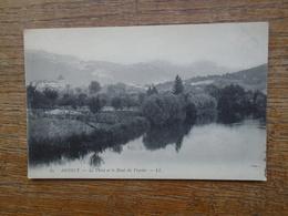 Annecy , Le Thiou Et Le Mont Du Veyrier - Annecy