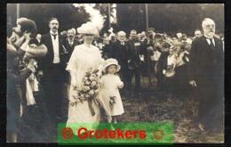DEN HAAG Koningin Wilhelmina En Prinses Juliana 1 September 1913 Fotokaart - Den Haag ('s-Gravenhage)