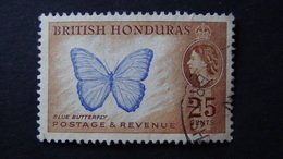 British Honduras - Common Morpho (Morpho Peleides) - 1953 - Mi:GB-BZ 148A, Yt:GB-BZ 154 O - Look Scan - Schmetterlinge