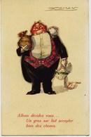 8596 - Illustrateur -   MAUZAN : DEMANDE EN MARIAGE ???Allons , Décidez Vous...Un Gros Sac Fait Accepter Bien Des Choses - Mauzan, L.A.