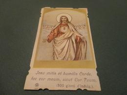 JESU MITIS ET HUMILIS CORDE FAC COR MEUM,SICUT COR TUUM - Images Religieuses