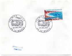 MARINE = 44 LA BAULE 1967 = CACHET PREMIER JOUR Illustré 'LA BAULE' + N° Yvt 1502 - FDC