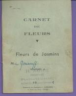 D 06 GRASSE PLASCASIER Carnet De FLEURS DE JASMIN GARIANOFF Pour H AUNE 103x138mm N044 - Unclassified