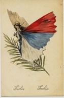 8602 - Illustrateur - FEMME PAPILLON  -  SERBIE .  SERBIA -  Guerre 1914 / 1918 - Serbie