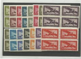 P.A. YTn° 24/38 Blocs De 4 Cote 74€40 Neufs *** - Indochina (1889-1945)