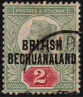 ~~~ Commonwealth Bechuanaland 1891 - Queen VIC  - Mi. 41 (o)  ~~~ - Bechuanaland (...-1966)